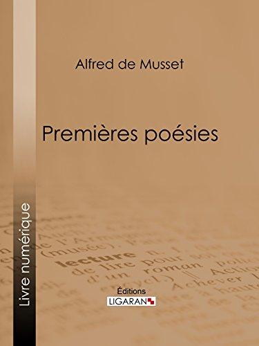 Premières Poésies par Alfred de Musset