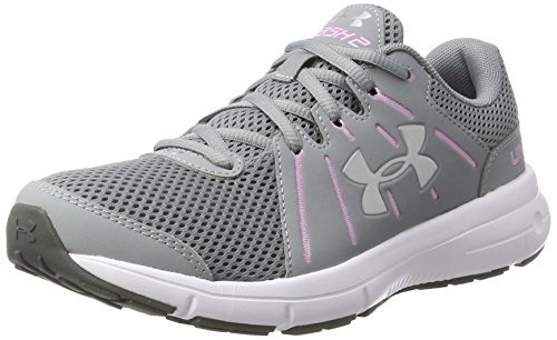Under Armour Damen UA W Dash RN 2 Laufschuhe, Grau (Steel 035), 39 EU (Damen Dash)