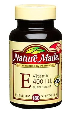 Nature Made - Vitamin E dl-Alpha 400 IU - 180 Liquid Softgels
