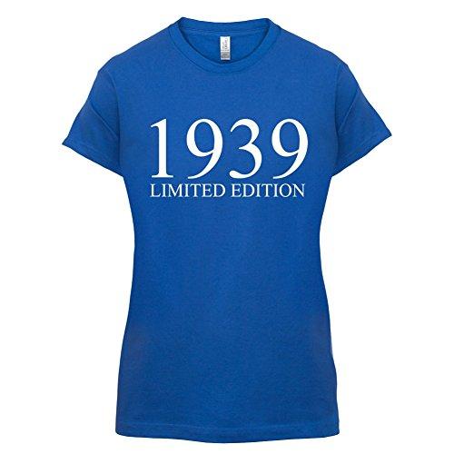 1939 Limierte Auflage / Limited Edition 78 Geburtstag Damen TShirt 14 Farben  Royalblau