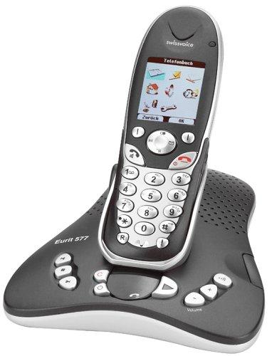 Swissvoice Eurit 577 schnurloses ISDN Telefon mit Anrufbeantworter
