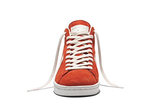 Converse Pro Leather 76 Mid Vintage Suede Fire Red