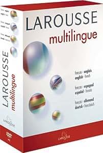 Larousse Multilingue - Français - Anglais - Espagnol - Allemand