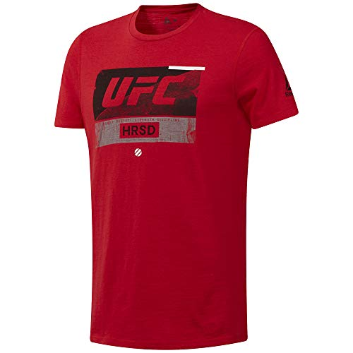 Reebok UFC FG Fight Week tee Camiseta, Hombre, prired, S