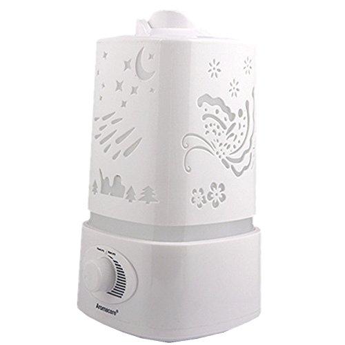 Humidificateur Ultrasonique Diffuseur Aroma Diffuseur d'Huiles Essentielles Xagoo® Diffuseur de Parfum de Lumière