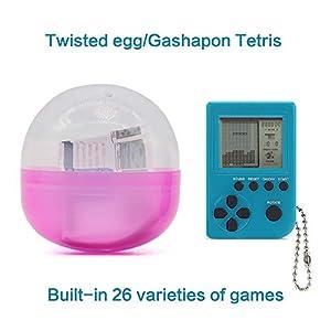 SU Kind Erwachsene Spielmaschine Schlüsselbund Spielzeug Mini Tetris