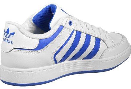 adidas Varial Low, Baskets Basses Homme, Mehrfarbig Blanc / bleu