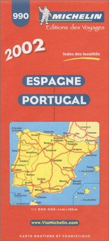 Espagne Portugal. 1/1 000 000