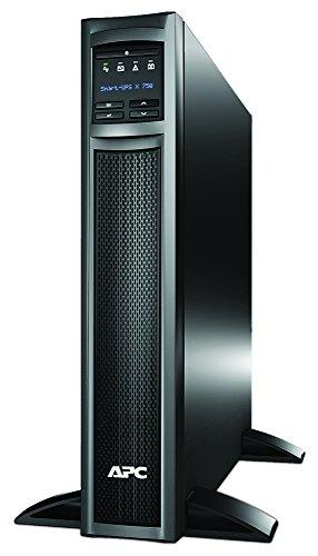 APC Smart UPS SMX - SMX750I - USV 750VA (Rack / Tower, bis zu 34 min. Überbrückungszeit bei Stromausfall, LCD Panel, ECO Mode - Stromsparfunktion) Rack-lcd-panel