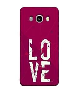 PrintVisa Designer Back Case Cover for Samsung Galaxy On8 Sm-J710Fn/Df (Kick of love The love)