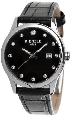 Kienzle K3042014261-00371 - Orologio da polso donna, pelle, colore: nero