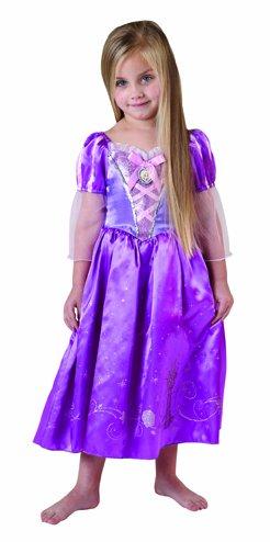 Disney Märchen Tangled Kinder Kostüm Prinzessin Rapunzel Gr.5-6 (Tangled Rapunzel Kostüm)