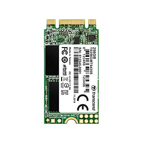 Transcend 256GB SATA III 6Gb/s MTS430S 42 mm M.2 SSD 430S SSD TS256GMTS430S -