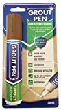 Grout Pen Large Brown - Revives & Restores Stained Tile Grout Leaving a Clean Fresh Look by Rainbow Chalk Markers