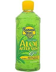 Banana Boat Aloe Vera Sun Burn Relief Gel 453ml - kühlendes Hautgel nach Sonnenbaden/Sonnenbrand usw.