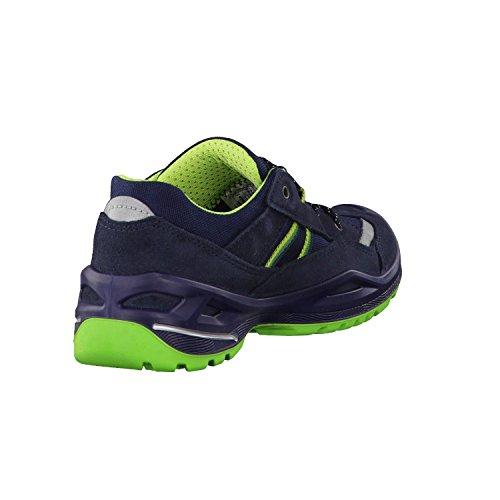 Lowa Simon Ii Gtx Lo, Scarpe da Escursionismo Unisex – Bambini blue-green
