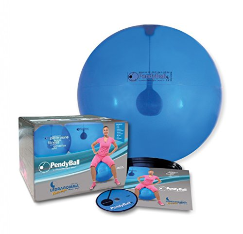 Original Pezzi® Pendyball 80cmØ/4kg blau transparent Gymnastik Sitzball Yoga