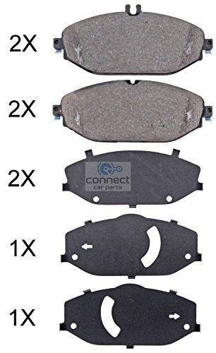 Preisvergleich Produktbild Bremsanlage / Bremsbelagsatz,  Scheibenbremse Vorne 1 Stück