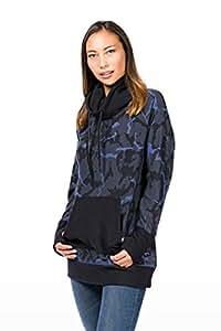 super. natural W Mountain Cascade Fleece Printed Women's