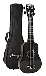 ukeleles: Martin Smith UK-212-BK - Ukelele soprano