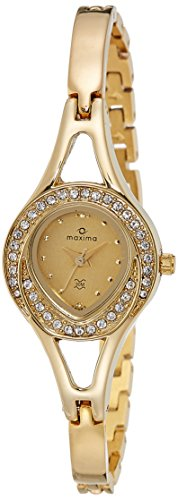 Maxima 24385BMLY Gold Women's Watch image.