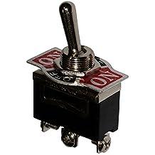 AERZETIX: Interruptor conmutador de palanca SP3T ON-OFF-ON 10A/250V, 3 posiciones