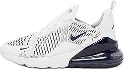 Nike Mädchen Air Max 270 (GS) Sneaker Weiß 38