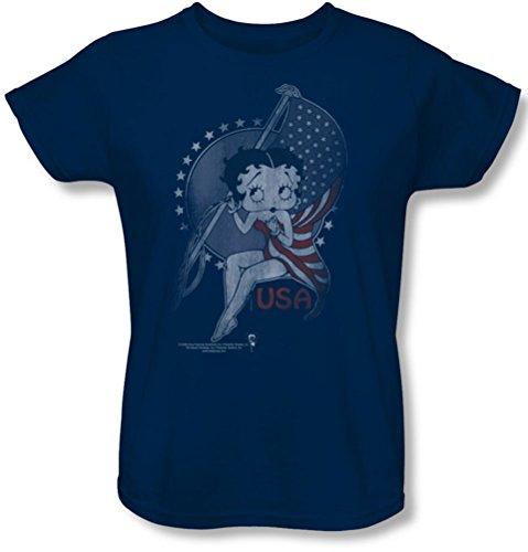 Betty Boop - Frauen Proud Betty-T-Shirt, X-Large, ()