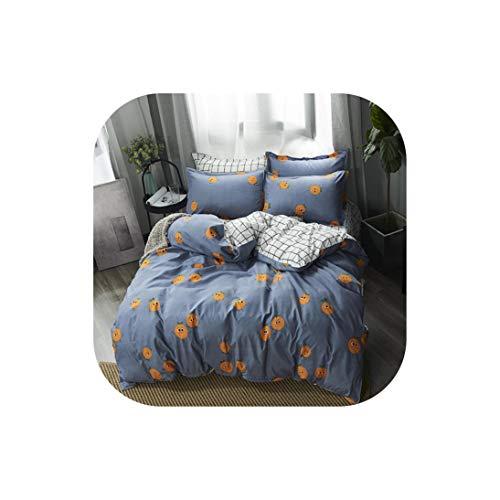 Moily Fayshow Bettwäsche für Kinder Bettwäsche-Sets Cactus 4 Stück 180 * 220 Bettbezug-Set Startseite Schlafsaal, 12, Dame, flaches Blatt (Bettwäsche Für Kinder, Zweibettzimmer)