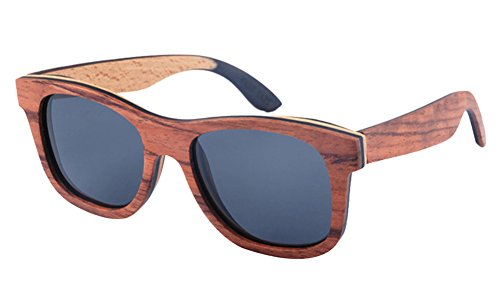 Insun Herren Sonnenbrille Gr. Einheitsgröße, Grau - C8 Black Frame