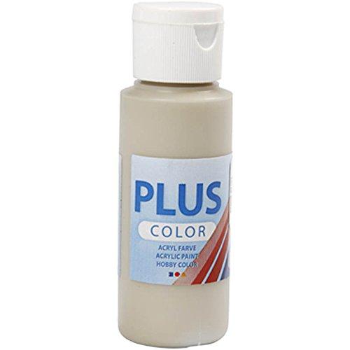 Plus Color 60ml para manualidades pintura, piedra beige