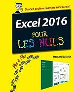 Excel 2016 pour les Nuls Pas à Pas de Bernard JOLIVALT