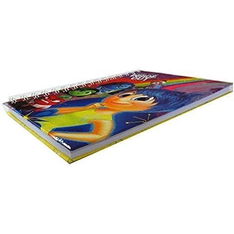 Cuaderno de tapa dura de espiral doble (–Disney Pixar Inside Out