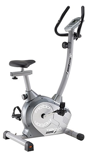 JK Fitness JK225 Cyclette Magnetica, Grigio/Argento
