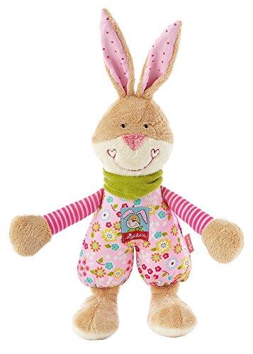 sigikid, Mädchen, Schlummerfigur, Hase Bungee Bunny, Rosa/Beige, 40107 (Bungee-baby)