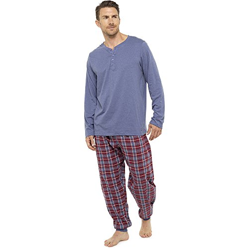 Neue Männer weichen Pyjama perfekte Sommer Frühling Loungewear atmungsaktive Hose Hose M-XXL - verrückt Verkauf während Lager LASTS! (M, blau) (Herren Schlaf-hose Fleece)