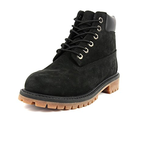 Timberland 6 In Classic Boot-6 In Premium Wp Boot, Bottes Classiques Mixte Enfant Black