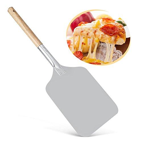 Holz Pizza Peel, ideal für hausgemachte Pizza, Käse und Charcuterie Boards 14