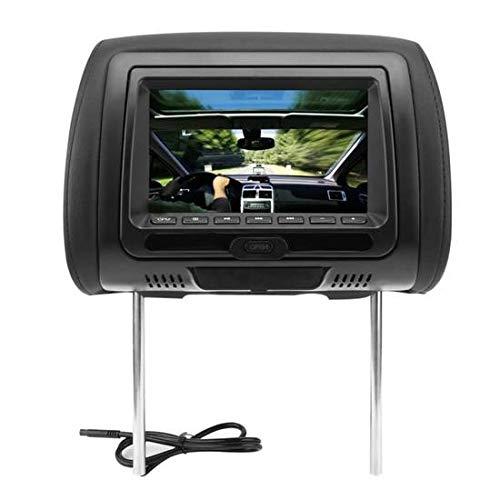 Ylinova Kopfstützen-Monitor, 17,8 cm, DVD-Player, Breitbild-LCD-Bildschirm, HD, Digital, 800 x 480 Auflösung, Schwarz (Monitor Kopfstütze Ipad)