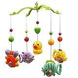 Bellecita Kleine Tiere Adorable Baby Wiege Schutzhülle Musik Bed Bell bildend