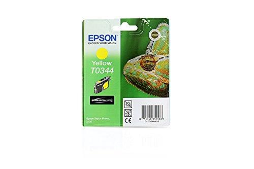Epson Stylus Photo 2200 - Original Epson C13T03444010 / T0344 / Stylus Photo 2100 Yellow Tinte - 17 ml (Epson Stylus Photo 2200)