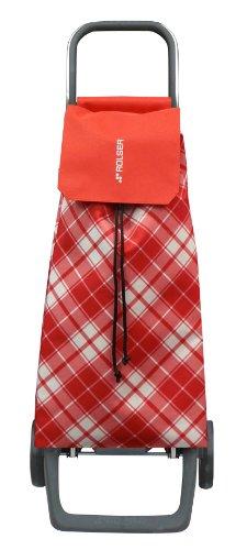 Rolser Einkaufsroller Jet Capri Poussettes à marché Joy/Carpi 40 L en Rouge Mixte, Multicolore, 32x27x95 cm