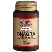 Aceite de Onagra 220 perlas de 500 mg de Obire