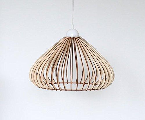 Lampada da soffitto in legno/legno/novità 2016in legno stile classico e moderno lampada da soffitto, taglio laser legno Eko lampada a sospensione, a forma di illuminazione