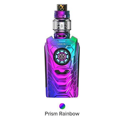 E zigarette Smok I-priv Kit mit TFV12 Prince Tank Vape Mod 230w Compatiable 21700 20700 18650,100% Autentic Ohne Nikotin (Prism Rainbow)