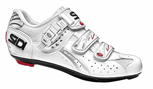 Sidi Genius 5 Fit Carbon - Chaussures - blanc 2016 chaussures vtt shimano White/white