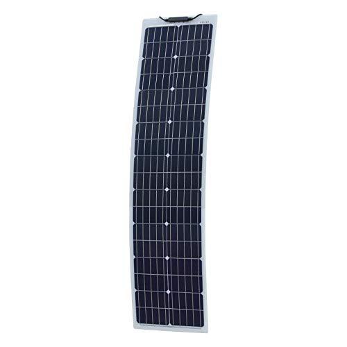 80W Aluminium verstärkt schmal halb-Flexibles Solarpanel mit Robuster ETFE Beschichtung (deutsche Solarzellen)