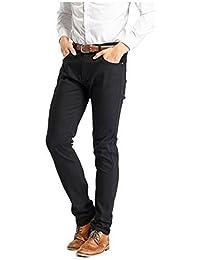 Robelli De Luxe Mélange De Coton Designer Élastique Jeans Moulant Coupe Skinny - Noir