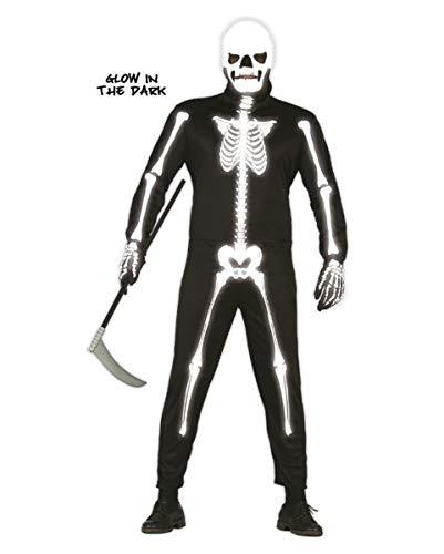 Horror-Shop Skelett Kostüm Glow in The Dark
