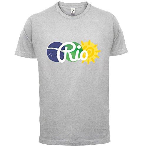 Rio de Janeiro 2016 - Herren T-Shirt - 13 Farben Hellgrau